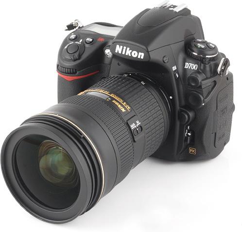 test du Nikon D700 compzrer au canon 5d